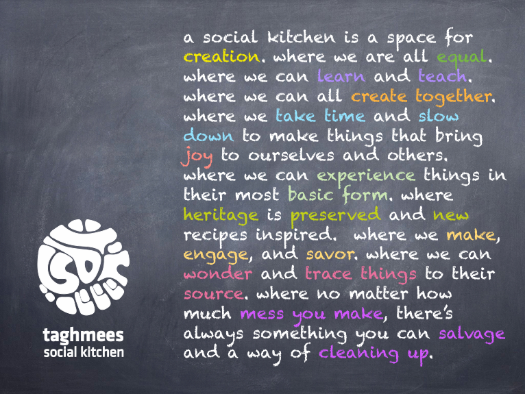 what is a social kitchen?
